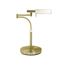 Sonneman 7014.38 - One Light Brass Desk Lamp