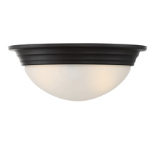 "Savoy House 6-782-11-13 - 11"" Flush Mount White Glass"