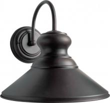 Forte 1227-01-32DS - One Light Antique Bronze Outdoor Wall Light