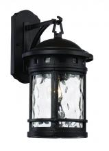 "Trans Globe 40371 BK - Boardwalk 16.25"" Wall Lantern"