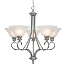 Golden 6005-5 PW - 5 Light Chandelier