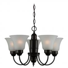 Sea Gull 31236-782 - Five Light Bronze Up Chandelier