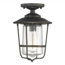 Capital 9607OB - 1 Light Outdoor Ceiling