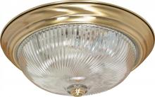 "Nuvo 60/231 - 3 Light - 15"" Flush Fixture"