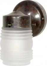 Nuvo SF76/700 - 1 Light Outdoor Mason Jar