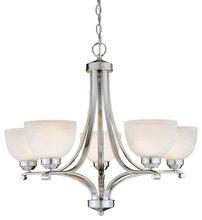 minkalavery 5 light chandelier